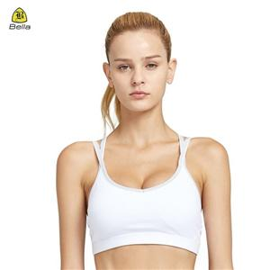 Woman Reflective Activewear Dri Fit Sport Bra