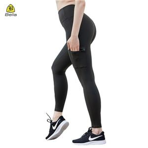 Yoga pinggang elastik Workout bingkap Untuk Wanita