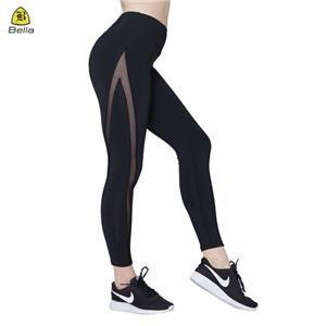 Жіночі спортивні легінси чорні вправи