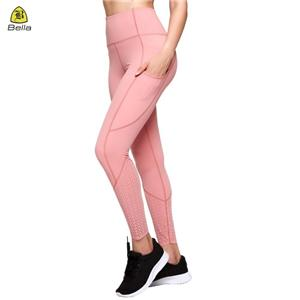 Women Leggings Gym Pakai Seluar Yoga Pocket