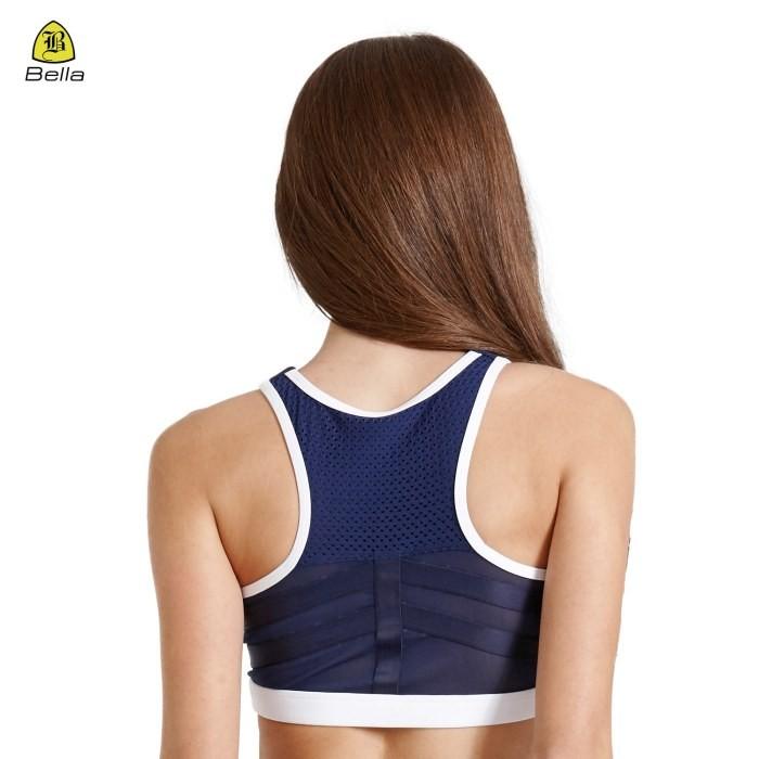 Medium Impact Front Workout Zipper Sport Bra