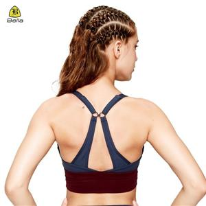 Blank Ladies Yoga Sexi Breathable Sport Bra