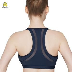 Sex Navy Women Fitness Sport Bra