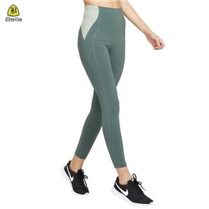 Duo warna Yoga Pant Wanita bingkap Sukan