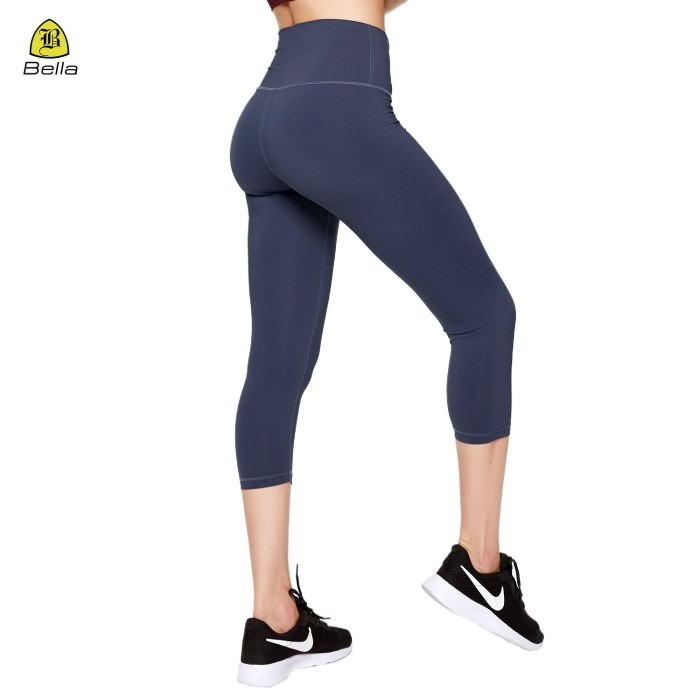 Spandex Workout Girls Capris Yoga Leggings