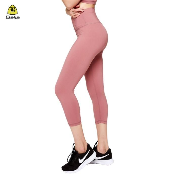 Spandex Workout Girls Capris Yoga Leggings