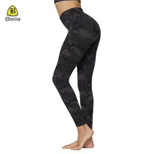Leggings desperdiçadas altas do desgaste das mulheres leggings