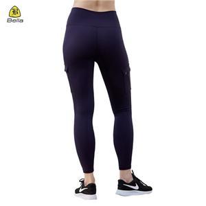 Темно-сині кишенькові спортивні штани для жінок