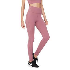 Wanita Sukan Pakaian Pink Gim bingkap