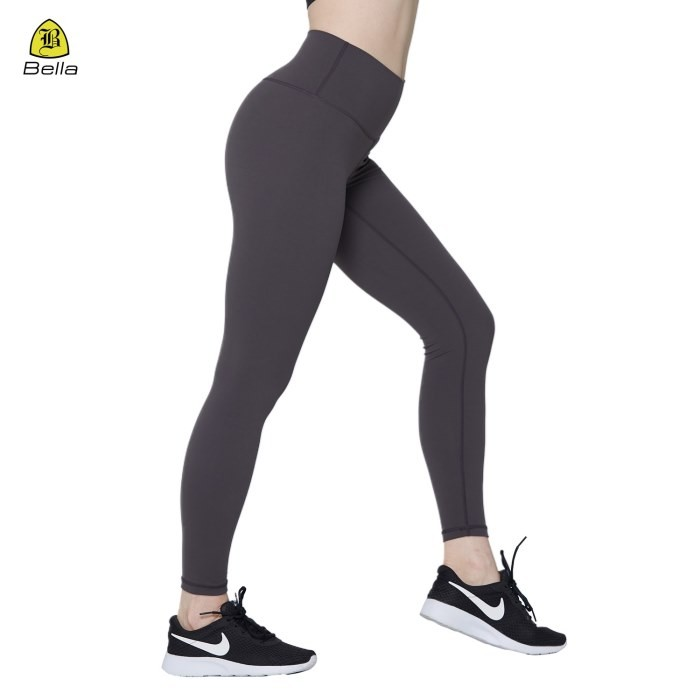 Women Gym Wear Plain Sport Leggings