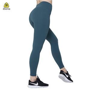 Plain nilon spandeks bingkap Yoga Untuk Wanita