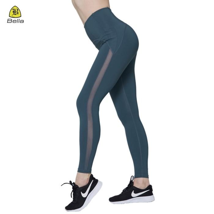 Mesh Womens High Waist Workout Leggings