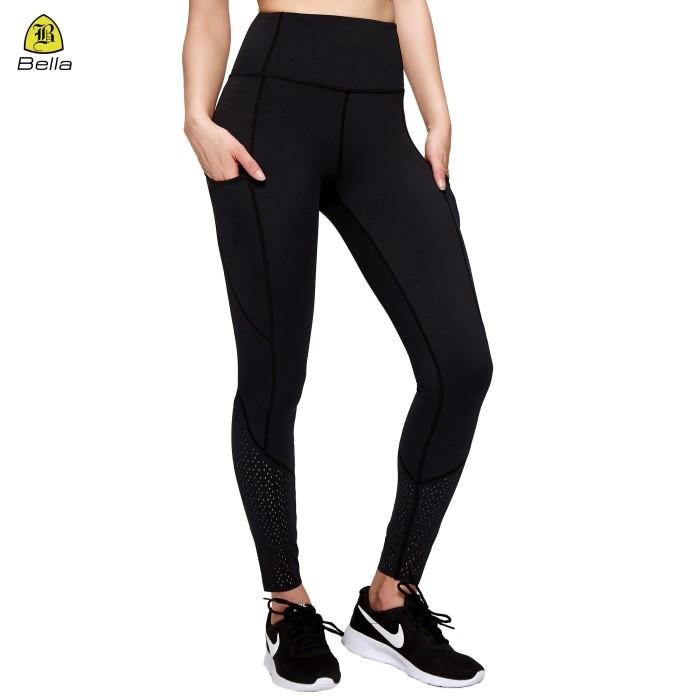 Ladies Dri Fit Yoga Pants With Pockets