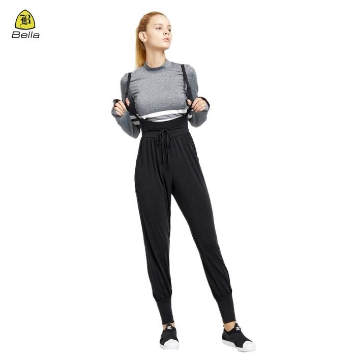 Calças folgadas macacões estilo calça para mulheres