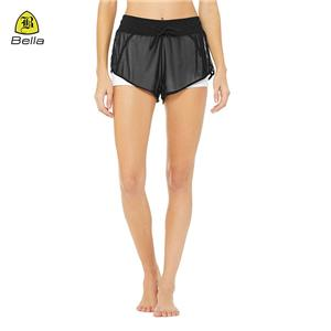 Mesh Athletic Clothes Joggers Women Shorts