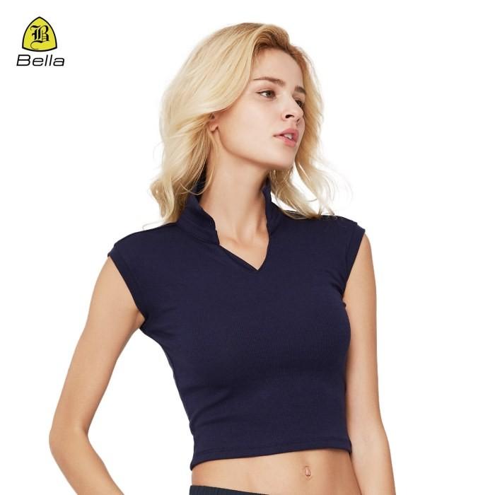 Sleeveless Crop Top Workout Shirts For Women