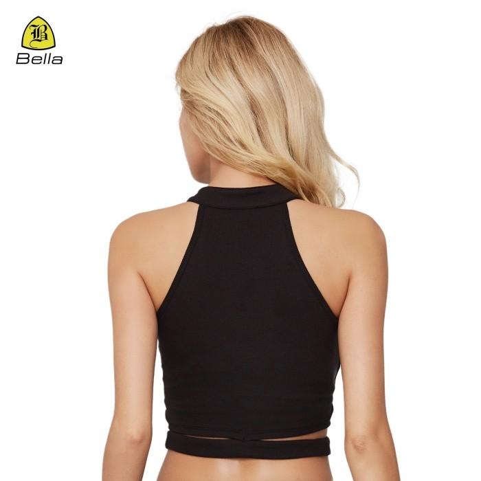 Camicie da donna da indossare in palestra con reggiseno interno