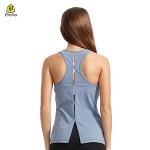 Відкрита спина жіноча пуста майка для йоги