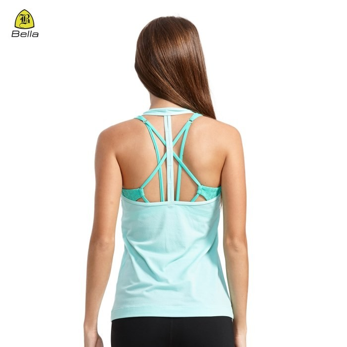 Fashion Activewear Gym Tank Top Womens
