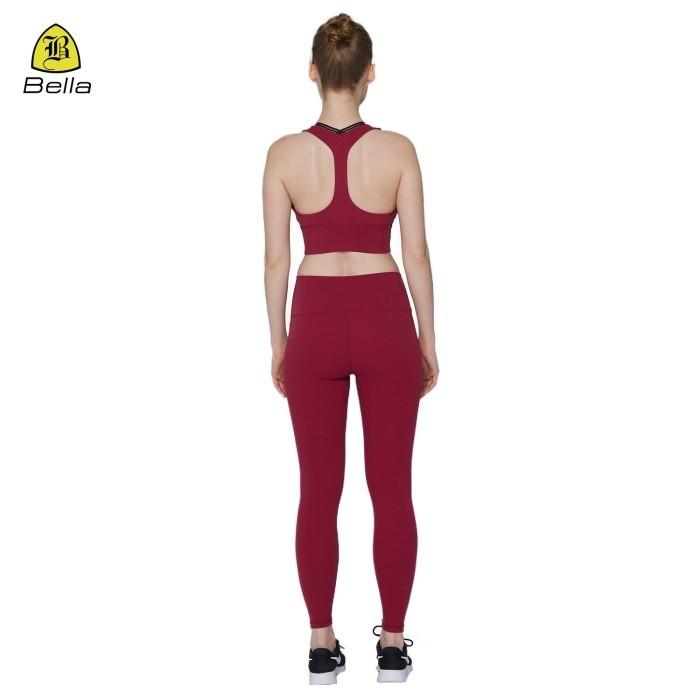 Gym Wear Frauen Yoga BH und Hosen Set