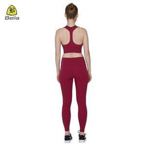 Gym Wear Dam Yoga BH och byxor Set