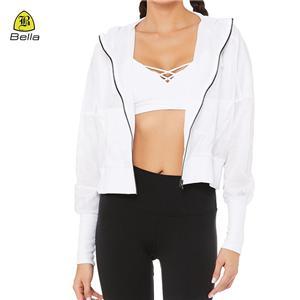 Zipper Sport Clothes Fitness Jacket Women