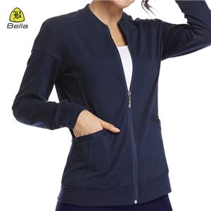 Polyester Women Active Jacket With Pocket