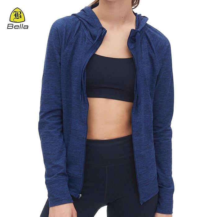 Active Wear Girls Plain Running Jackets