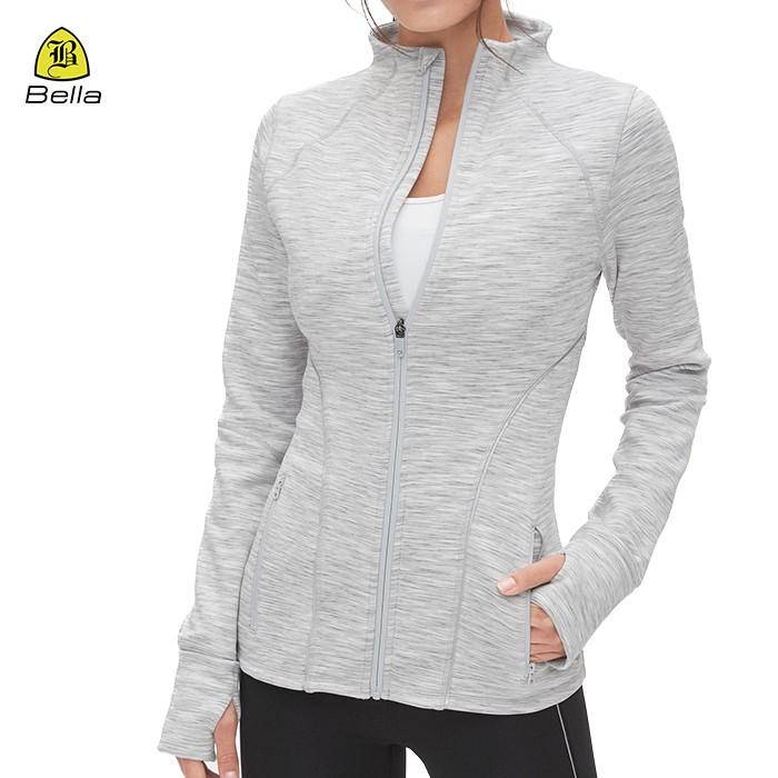 일반 체육관 착용 여성 러닝 재킷