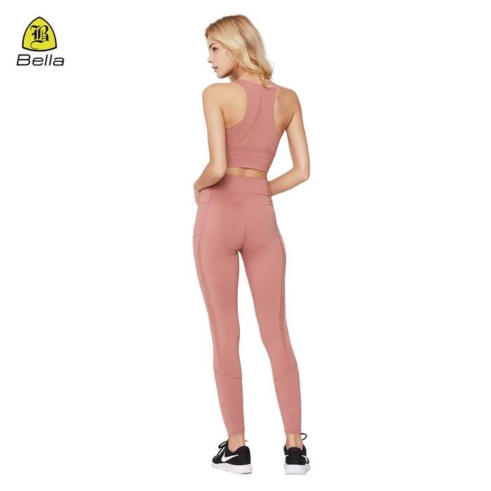 Womens Wear Mesh Sport BH Legging Set