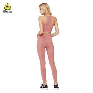 Kvinnors Wear Mesh Sports Bra Legging Set
