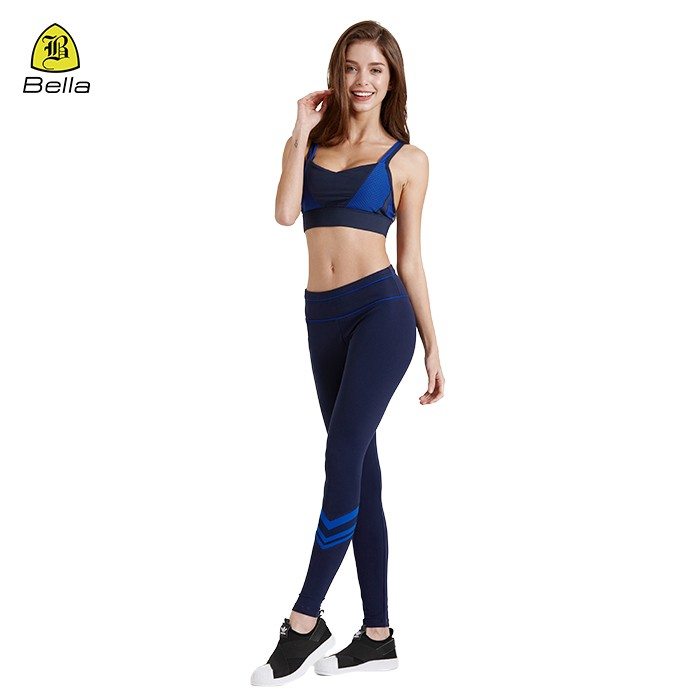 Women Sports Wear Yoga Bra And Leggings Set