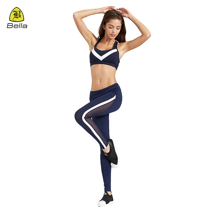 Woman Sport Wear Bra And Yoga Pants Set