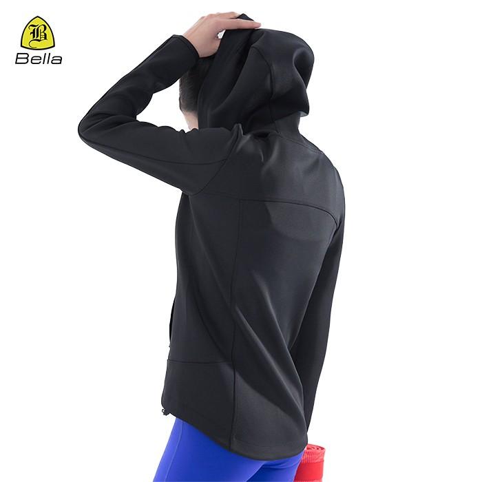 Frauen trainieren Workout Hoodie mit Tasche