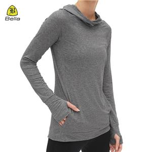 Pocket Sport Clothes Fitness Hoodie Woman