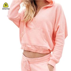 Yoga Pocket Workout Hoodie For Woman