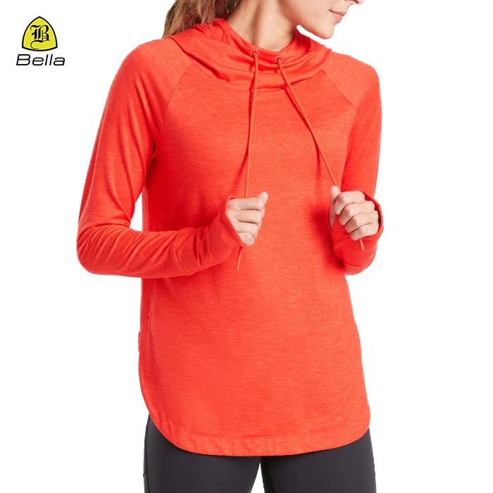 Atmungsaktive Sport Frauen Yoga Hoodies