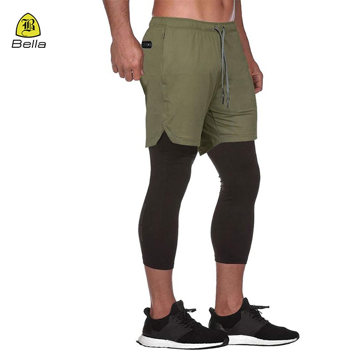 Outdoor Men's Black Running Pants