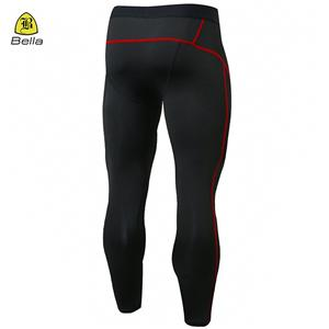 Nylon Spandex Yoga Men's Running Leggings