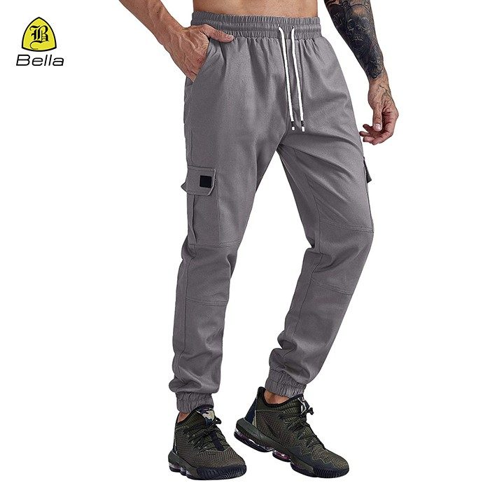 Track seluar kolor Sweatpants lelaki Halaman