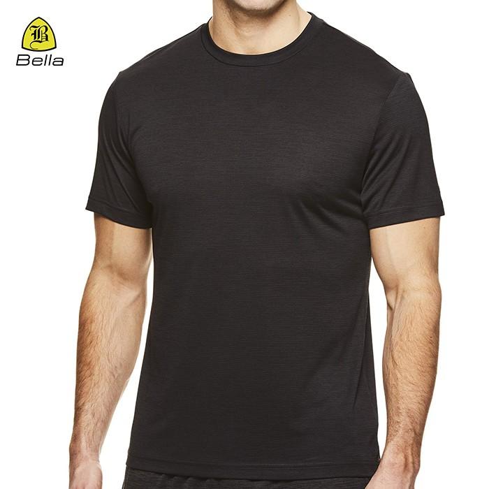 Short Sleeve Men's Fitness T- Shirt