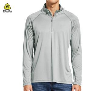 Long Sleeve Polo kolar Sukan Shirt Lelaki
