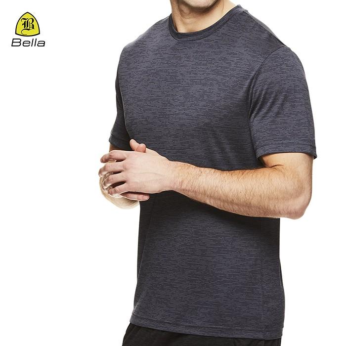Short Sleeve Bodybuilding Gym T Shirts Men