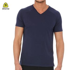 Tshirt Gim Lelaki Atlet Poliester Asas