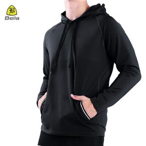 Pocket Wear Active Workout Hoodies Mens
