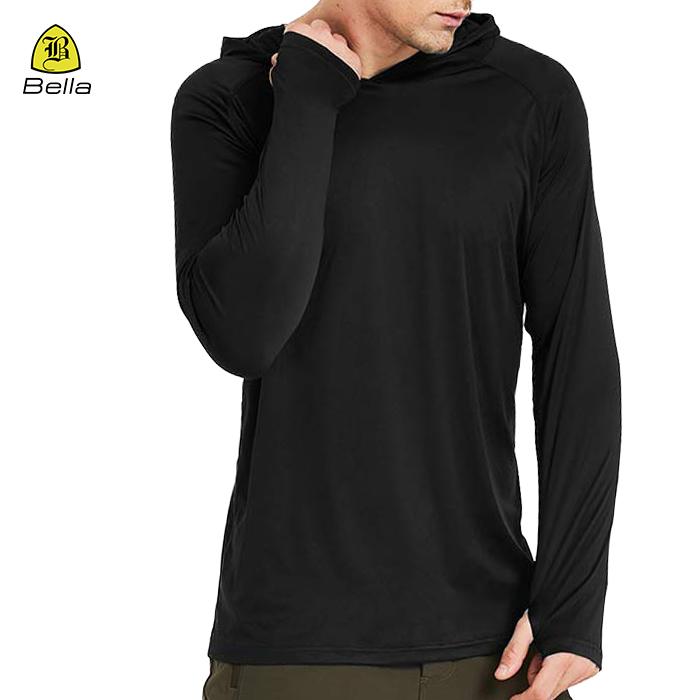 mens hoodies kecergasan hitam