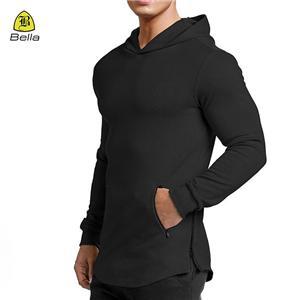 Blank Sukan Pakaian Workout Hoodie Mens
