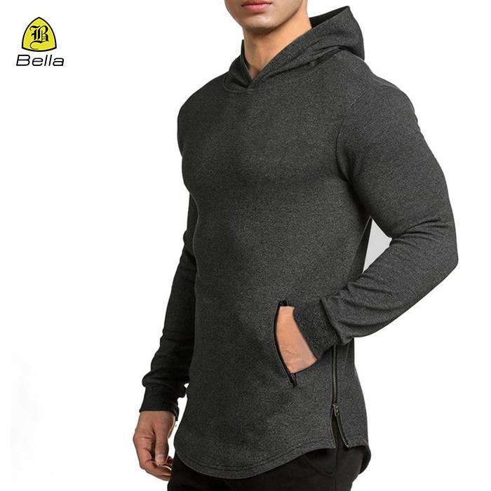 mens blank sports hoodie