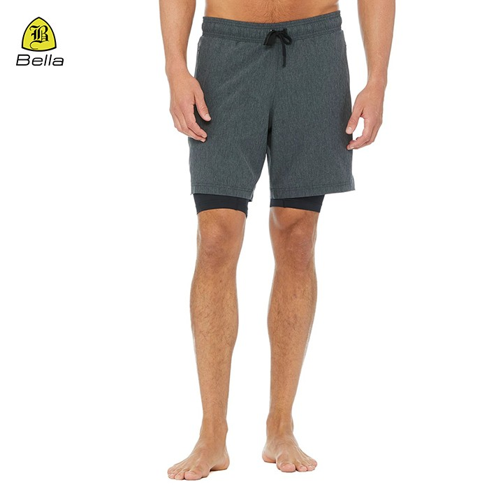 Drawstring Bodybuilding Gym Shorts Men
