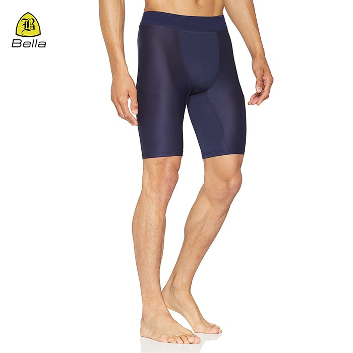 Basic Athletic Polyester Mens Gym Shorts